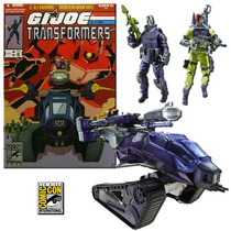 Gi Joe Hiss Tank Shockwave Sdcc Ex 2012 Legacyts