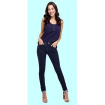 Super Lindaaaa Calça Jeans Hot Pants Lavagem Escura Rockblue