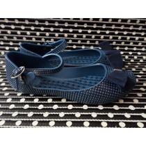Sapatilha Zaxy Glitter 34 Azul-escuro Nova!
