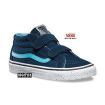 Zapatillas Vans Sk8 Mid Reissue Velcro Kids Original