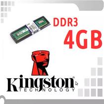 Memoria Ram Kingston 4gb Ddr3 1600 Mhz Compatible 1333 Mhz
