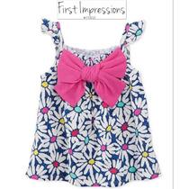 Envio Blusa Nina 2 Anos First Impress Macys Blanca Azul Rosa