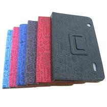 Case Capa Para Tablet Cce 7 Pol Motion Tr71 Tr72 C/ Desenho