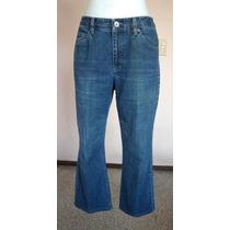Liz Claiborne Jeans Corte Recto Talla 8r Pm15