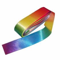 Fita Cetim Multicor, Frutacor,arco-iris 104 22mm X 10mts