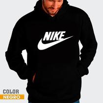 Sweater Nike Suetes Con Capucha Y Bolsillo Unicolor Unisex