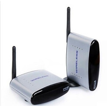Extensor Transmissor Sem Fio Audio Video Com Controle Remoto