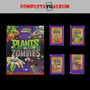 Laminas Album Plants V/s Zombies 2 (2014)