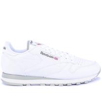 Tênis Reebok Classic Cl Leather Int White Grey 2214