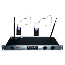 Microfono Vincha Doble Uhf 300 Gbr, Dj,sonido Oferta Unica