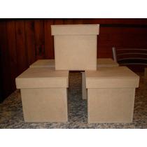 Cajas De Fibrofacil 10x10x10 Tapa Zapato X 10 Unidades!!!!