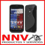 Funda Silicona Tpu + Film Protector Motorola Moto X Xt1058