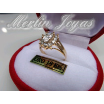 Anillo Cintillo Roseta Oro18k - Merlin Joyas-