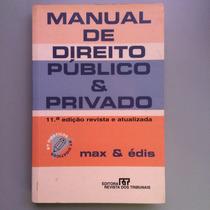 Manual De Direito Publico E Privado 11 Edicao
