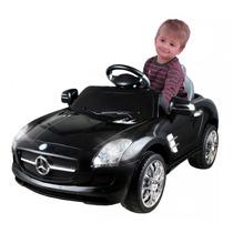 Carrinho Elétrico 6 Volts Mercedes-benz Preto Xalingo