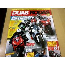 Revista Duas Rodas Nº463 Honda Nc700x Bmw C600 Sport