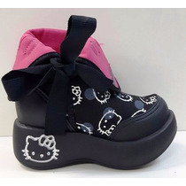 Bota Feminina Infantil Hello Kitty