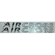 Faixa Lateral Adesivo Aircross- Preto, Branco Ou Grafite