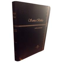 Biblia Letra Grande Imitación Piel Negro Reina Valera 1960