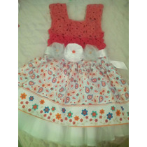 Vestido Tejido Para Niña