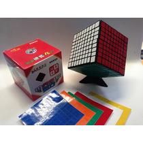 Cubo Rubik 9x9 Shengshou Con Stickers De Repuesto Gratis!