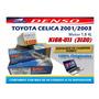 Bujia Denso Toyota Celica 2001 Al 2003 K16r-u11 (3120) 100%
