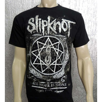 Camiseta De Banda - Slipknot - All Hope Is Gone