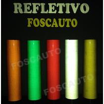 Adesivo Refletivo Medida De 50cm X 30cm Estilo Olho De Gato
