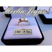 Anillo Cintillo De Oro18k- 1.5 Gramos - Merlin Joyas-