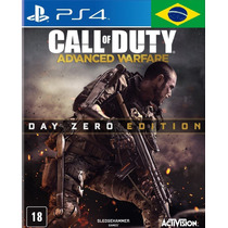 Call Of Duty Advanced Warfare Day Edition Ps4 -código Psn Id