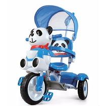 Triciclo Direccional Infantil Panda Nena/e Sweet Babies