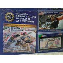 Coleccion Monedas Y Billetes Del Mundo