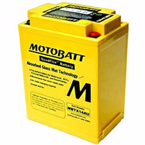 Bateria Ducati Cagiva Honda Yamaha - Motobatt Mbtx14au