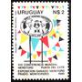 Osl Sello 1055 Uruguay Hereford Vacuno
