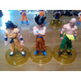 Muñecos Dragon Ball Z, Con Base Vegeta Goku Y Muchos Mas!