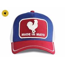 Boné Jãum Jãum Made In Mato 3 Cores Selo Quadrado Vermelho