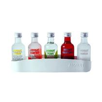 Kit Vodka Absolut 50 Ml + Estojo Lacrado