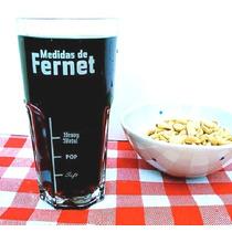 Vaso Fernet Con Medidas 340 Cm3 - Magenta Deco - Regalos