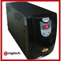 Nobreak Sms Ragtech 3200va Bivolt C/ Engate Bateria Externa
