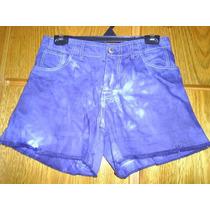 Shorts Jeans Tie-dye