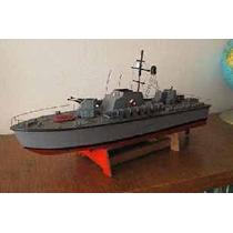 Plano Rc Lancha Pt-boat K-203 Soviética (el Mejor Precio)