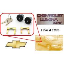 90-96 Chevrolet Lumina Apv Chapas Puertas Llaves Color Negro