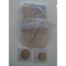 500 Sobres Monedas + Pinza Numismatica + 10 Y 20 C 1976