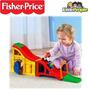 Fisher Price Pista Sonidos De Carrera Little People Juguetes