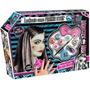 Monster High Lookeate Frankie Stein !! Peluca Maquillaje