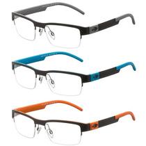 Armação Para Oculos De Grau Mormaii Mo1676 Fibra De Carbono