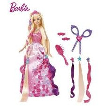 Barbie Princesa Peinados Divertidos De Mattel