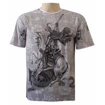 Camiseta São Jorge Oração (extra Grande)