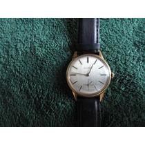 Reloj Movado, 17 Jewels , Enchapado En Oro