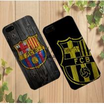 Carcasa Premium Iphone 5c O 4s Oficial Fcb Barcelona
